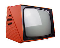 Orange tv Royalty Free Stock Photo