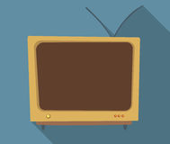 Orange TV Stock Images