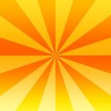 Orange Twirl. Orange Rays Shining From The Centre To The Outside, Illustration Background stock illustration