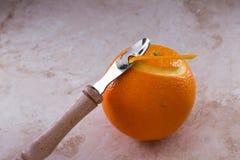 Orange twist Royalty Free Stock Photography