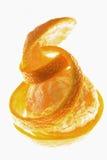orange twist för frukt royaltyfria foton