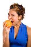 Orange u. Blau 3 Lizenzfreies Stockbild