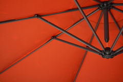 Orange umbrella Stock Photos