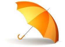Orange umbrella Stock Photos