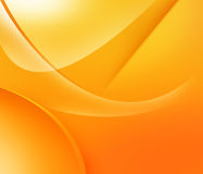 Orange und gelbe Formen Lizenzfreie Stockbilder