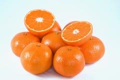 Orange und Mandarine Stockfoto