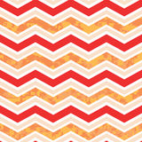 Orange und rotes Chevron Camo Stockfotos