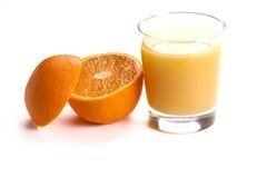 Orange und Saft Lizenzfreie Stockfotografie
