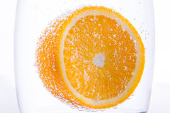 Orange underwater Stock Images