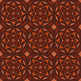 Orange universal vector seamless patterns, tiling. Geometric ornaments. Royalty Free Stock Photography