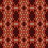 Orange universal vector seamless patterns, tiling. Geometric ornaments. Stock Photography