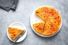 Free Orange Upside Down Cake Stock Images - 161009164