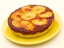 Orange upside down cake Stock Image
