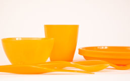 Orange utensil Stock Image