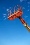 Orange Utility Construction Lift Royalty Free Stock Image
