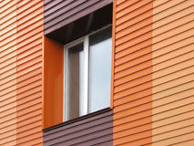 orange vägg Royaltyfri Bild