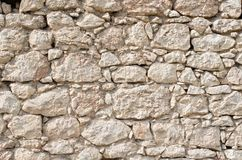 Orange vägg av ett löst stenslut upp Fotografering för Bildbyråer