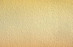 Orange vägg specificerad textur, konstnärlig bakgrund Royaltyfria Bilder