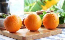Valencia Orange Stock Photo