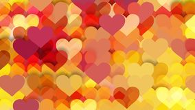 Free Orange Valentine Background Vector Graphic Royalty Free Stock Photography - 162748347