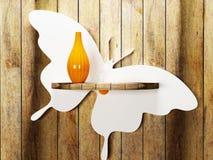 Free Orange Vase Is On The Shelf Royalty Free Stock Images - 41955899