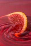 orange vatten Royaltyfri Fotografi