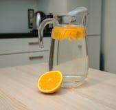 orange vatten Fotografering för Bildbyråer