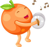 Orange vector Royalty Free Stock Images