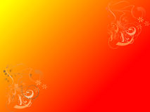 Orange vector background Stock Images