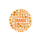 Orange vegetables and fruits Stock Photo