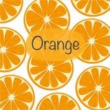 Orange Vektor-Hintergrund Stockbild