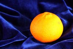 Orange and velvet Stock Photos
