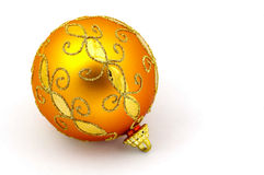 Orange Verzierung Lizenzfreie Stockbilder