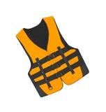 Orange vest isolated Stock Images
