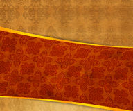 Orange Vintage Exclusive Background Stock Images
