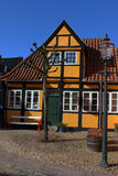 Orange Vintage House Royalty Free Stock Images