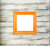 Orange Vintage picture frame Royalty Free Stock Photography