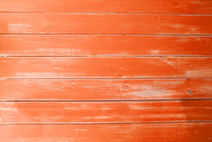 Orange Vintage Wooden Background, Copy Space Stock Images
