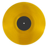 Orange vinyl Royalty Free Stock Photography