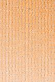 Orange vinyl texture Royalty Free Stock Photos