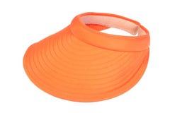 Orange visor