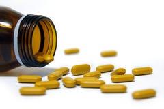 orange vitamin Fotografering för Bildbyråer