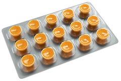 Orange - Vitamin C Stock Images