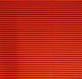 Orange Vorhänge Stockbild