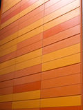 Orange wall Royalty Free Stock Image