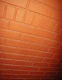 Orange wall Stock Images