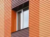 Orange wall Royalty Free Stock Image
