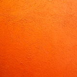 Orange wall background Stock Image