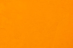 Orange wall Stock Photo