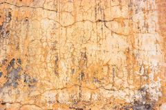 Orange wall texture Royalty Free Stock Photo